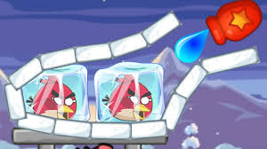 Unfreeze Angry Birds - RESCUE THE BIRDS BY DRAWING WATER WAY ...