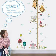 Us Stock Removable Height Chart Measure Wall Sticker Decal Kids Room Undersea For Sale Online