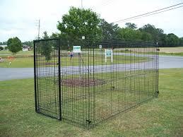 Spartanburg Greenville Custom Dog Kennel Construction Seegars Fence