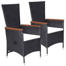 dining chairs poly rattan garden