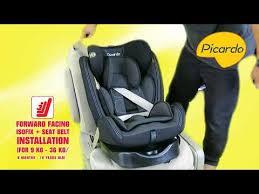 picardo swirl v2 360 isofix car seat