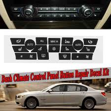 Car Sticker Ac Climate Control Button Sticker Panel Button Repair Decal Kit For Bmw 7series Button Repair Fix Faded Ugly Buttons Car Switches Relays Aliexpress
