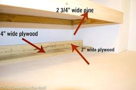 how to hang floating shelves floating