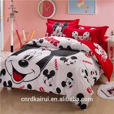 mickey mouse bedding minnie mouse