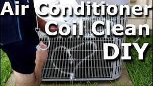 hvac coil cleaning air conditioner ac