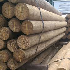 Round Pressure Treated Post Academy Fence Company Nj Pa Ny