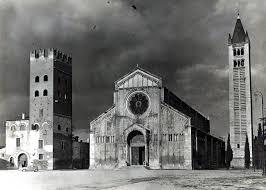 Verona - Temporale su San Zeno...