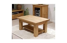 opus solid oak furniture 3 x 2 coffee