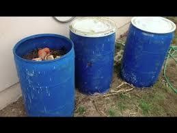how do i make compost bins from barrels
