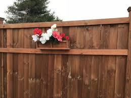 Cedar Planter Box Privacy Fence Decorative Planter Box Bellewood Designs