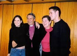 Rev Tim Stevens at St Nicholas Church 40th | Later Clergy | CanveyIsland.org
