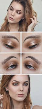 bronze makeup tutorials celebrity