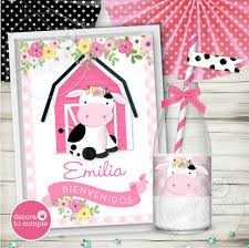 Kit Imprimible Vaca Lola Personalizado