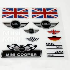 Best Discount 28f34 Aliauto Car Styling Mini Car Sticker And Decal Set Accessories For Mini Cooper Cicig Co