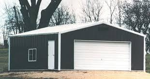 commercial white garage door at menards