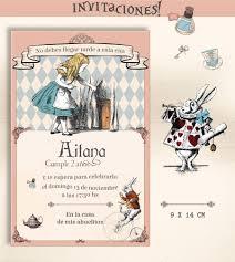 Kit Imprimible Alicia En El Pais De La Maravillas Vintage