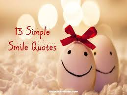 simple smile quotes