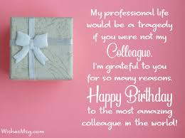 birthday wishes messages for colleagues