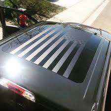 Ford F150 Sunroof American Flag Decal Seirra Offroad Merica Etsy