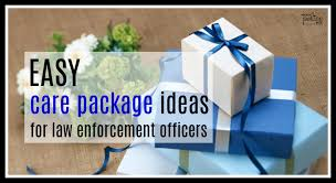 ideas for police academy care packages