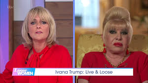 Donald Trump's ex-wife Ivana says immigrants 'steal and rape women' in 'car  crash' Loose Women interview