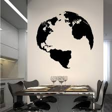 Planet Earth Wall Decal Cutzz