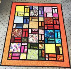 stained glass quilt designed by bob
