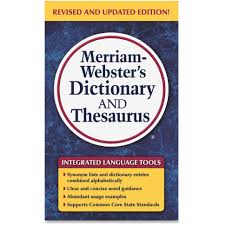merriam webster dictionary thesaurus