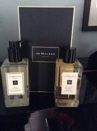 jo malone bath oil and hand and shower