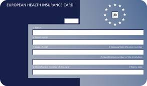 Image result for European Health Insurance Card""