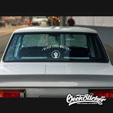Black Lives Matter Sticker Windshield Blm Decals Car Reflective Waterproof Vinyl Sticker Car Sticker X1 Geeksticker