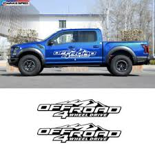 4x4 Truck Car Styling Pajero L200 Mountain Off Road Vinyl Decal Sticker X2 V436 Ebay