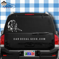 Lion Car Decals Stickers Graphics Wildlife Car Decals