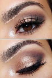 natural but smokey eye great for