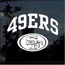 San Francisco 49ers Window Decal Sticker Custom Sticker Shop