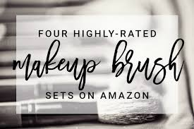 the best makeup brush sets from amazon