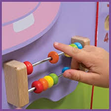 Amazon Com Learning Advantage Hippo Activity Wall Panel 18m Toddler Activity Center Wall Mounted Toy Busy Board Decor For Bedrooms Daycares And Play Areas Industrial Scientific