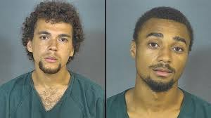 Men arrested after allegedly admitting to stealing items from apartment