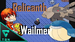 Pokemon Emerald : วิธีจับRelicanth และ Wailmer - YouTube