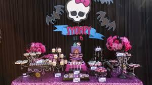 Cumpleanos De Monster High Para Ninas Ideas Para Decoracion