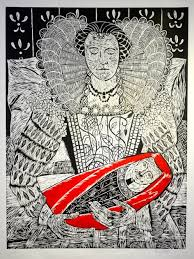 Large woodcut (3ft x4ft) by Polly Dixon | Prints, Linocut, Printmaking
