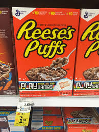 puffs cereal only 0 99 reg 3 69