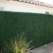 3 5 Ft H X 3 5 Ft W Artificial Plants Milan Hedge Polyethylene Fencing In 2020 Artificial Hedges Artificial Boxwood Boxwood Hedge