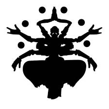 Video Game Overwatch Zenyatta V2 Black Pearl Custom Vinyls