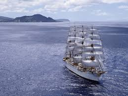 schooner sailing on the sea