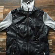 pacsun jackets coats faux leather