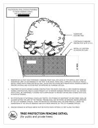 Timely Tree Tips Tree Protection Part 3 Tree Protection Fencing Urban And Community Forestry In Washington State