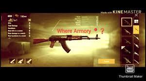 Pubg new update Armory- where 📍❓ - YouTube