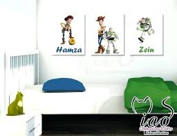Toy Story Wall Stickers Kids Bedroom Decor Modularte Co
