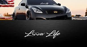 Low Life Infiniti Logo Windshield Banner Buy Online In Belize At Desertcart